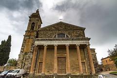 Montalcino-004 (bonacherajf) Tags: italia italie valdorcia village montalcino église church