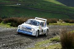 John Saunders Tony Hart (Paul C Stokes) Tags: mg merto 6r4 john saunders tony hart dayinsure 2018 wrc wales rally gb sweet lamb grass road