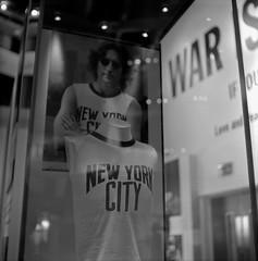 Sometime in New York City (The Futurist On Film) Tags: rollei rolleicord tlr mediumformat rollfilm 6x6 square bw rodinal liverpool johnlennon johnyoko newyork nyc