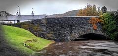 13th October 2018 (Rob Sutherland) Tags: sparkbridge rain wet stormcallum river crake lakes lakeland lakedistrict village cumbria cumbrian uk england english britain british