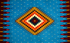 Indian Print (WILSON-53) Tags: food cats cars rug blue red indian blanket colors green new mexico patterns dogs