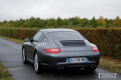 20181007 - Porsche 911 (997-2) Carrera S 385cv - N(2230) - CARS AND COFFEE CENTRE - Chateau de Longue Plaine (laurent lhermet) Tags: carreras carrera chateaudelongueplaine domainedelongueplaine nikkor18105 nikond5500 porsche911carrera porsche porsche911 nikon porsche9972