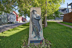 Norwegen - Tromsø, Erling Bru-Kjeldsen (www.nbfotos.de) Tags: norwegen norge norway tromsø tromsö erlingbrukjeldsen statue skulptur sculpture denkmal monument