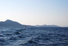 sea_boat_islands (feeblehuman) Tags: croatia boat sea waves islands