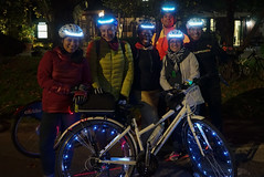 Upper Manhattan, New York (Quench Your Eyes) Tags: citibike letsglownyc ny upperwestside bicycle bikelights bikeshare fallride glowatnight harlem lumoshelmet manhattan newyork newyorkcity newyorkstate nightride nyc nycdot reflective uppermanhattan visibility ubbicycleadv