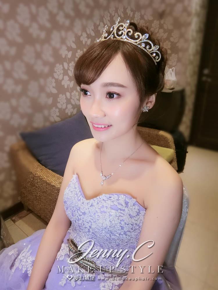 【新秘蓁妮】bride嵐筑 訂婚造型 / 台中雅園新潮