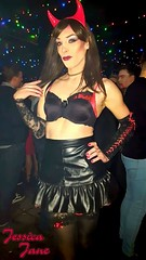 Demonic Diva (jessicajane9) Tags: tg crossdresser trans crossdress feminization tv crossdressing m2f tgurl feminised transvestite cd tranny leather transgender xdress tgirl