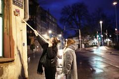 Collage de rue (Maureen Morlet (fb: MM Photogra'fy)) Tags: street collage night morning petitmatin strasbourg rue extérieur exterior canon canoneos6d canoneso6d dark sombre girls