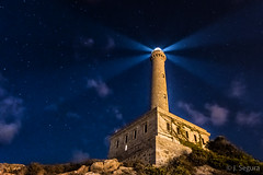 Faro Cabo de Palos (Yorch Seif) Tags: noche night nocturna nocturnal lightpainting longexposure largaexposicion estrellas stars d7500 tokina1116