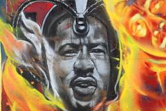 Professor MLK (Chuck Diesel) Tags: xmen mlk martinlutherking cerebro civlrights professorx ihaveadream charlesxavier graffiti streetart krogstreet