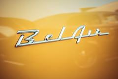 Yellow Bel Air (sniggie) Tags: 1956chevy belair chevrolet classiccar vintageautomobile carornament