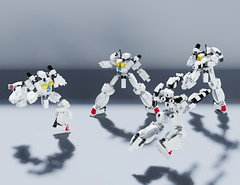 LEGO Mech Tutorial - NoWings Unit (ControlAltBrick) Tags: lego mech tutorial instructions guide mecha robot gundam gunpla build moc mecabricks blender eevee controlaltbrick ctrlaltbrick