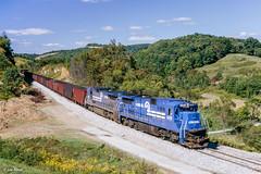 MGA-CR 6618 South at Buzz, PA (thechief500) Tags: mga railroads waynesburgsouthernbranch westdivision