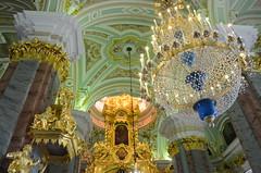 Cathédrale Pierre-et-Paul (RarOiseau) Tags: saintpétersbourg russie cathédrale intérieur