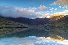 Llyn Llydaw (gmorriswk) Tags: landscape caernarfon wales unitedkingdom gb snowdonia national park snowdon sunrise firecrest 12 soft grad formatt hitech reflection reflections