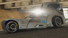 10-12-2018_12-42-00_AM (Brokenvegetable) Tags: forza horizon 4 turn10studios microsoft playground games videogame photomode photography volvo iron knight semi truck racing