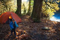 Turlo Campground (Sergiy Matusevych) Tags: turlo campsite wa washington elizabeth fall autumn tent river leaaves leaf foliage october verlot mountain loop highway scenic drive robe olympusmzuikodigitaled1240mmf28pro