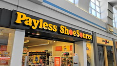 Payless ShoeSource (jjbers) Tags: enfield square dead mall connecticut old payless shoe source retro nostalgia