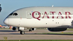 A7-BCF (AnDyMHoLdEn) Tags: qatar 787 dreamliner oneworld egcc airport manchester manchesterairport 23l
