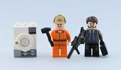 Movies and TV Series minifigs #3 : Fargo (Alex THELEGOFAN) Tags: lego legography minifigure minifigures minifig minifigurine minifigs minifigurines washing machine fargo series tv movies figbarf