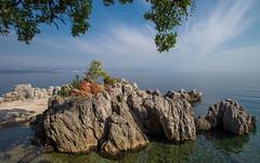 Lungomare (02) - Lovran (Vlado Ferenčić) Tags: lungomare lovran istra kvarner istria sea seascape adriatic adriaticsea vladoferencic more jadranskomore nikond600 nikkor173528