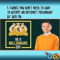 5 things you dont need to have to become internet millionaire (Devina Wirawan) Tags: bisnis internet digitalmarketing bisnisonline tipsdantrik life affiliate onlineshop seminar business online gratis copywriting marketing quote sukses workshop