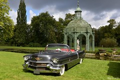 1956 Cadillac Eldorado Biarritz (pontfire) Tags: 1956 cadillac eldorado cad eldo 56 gm chantilly arts élégance 2017 et richardmille peterauto chantillyartsélégance chantillyartsélégance2017 château de classic car old antique american us luxury voiture luxe ancienne collection vieille dexception cabriolet cars auto autos automobile automobiles voitures coche coches carro carros pontfire prestige motors division big américaine 6267sx bil αυτοκίνητο 車 автомобиль classique oldtimer automotive general corporation