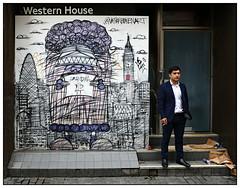 Grandma did it (donbyatt) Tags: london urban streetart spraycans graffiti candid people nathanbowen