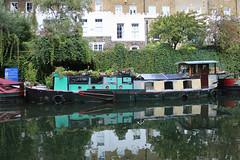 Such a Beautiful Old Boat tied up in Islington (eibonvale) Tags: london regentscanal islington boat canal waterway