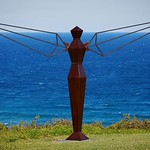 From our Instameet down at @sculpturesatkillalea the other weekend... reminiscent of Anthony Gormley's Angel of the North, here's William Upjohn's Angle Angel which when viewed from different angles, appears to be a mix of both the male and female forms! thumbnail