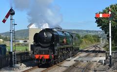 """""""Peninsular & Oriental SN Co."""" (2) (lewispix) Tags: 35006 462 bulleid pacific steam railway"""