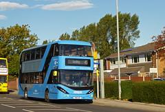 Nottingham City Transport 435 (SRB Photography Edinburgh) Tags: nottingham city transport buses bus sky blue 45 travel uk england