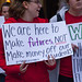 Chicago Teachers Union Members and Allies Picket Outside Chicago Public Schools Headquarters Downtown Chicago Illinois 9-26-18 4105