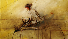 figure study dancer troycrisswell (troycrisswell) Tags: art watercolor figure study troycrisswell