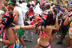 DSC_8501 (photographer695) Tags: notting hill caribbean carnival london exotic colourful costume girls dancing showgirl performers aug 27 2018 stunning ladies