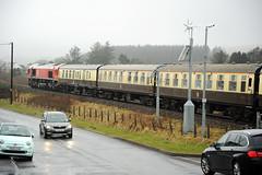 Seven Sisters 80825 (kgvuk) Tags: sevensisters neathandbreconrailway train locomotive diesellocomotive class66 ews dbcargo 66230 valleyofthewitchrailtour