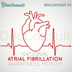 Atrial Fibrillation Awareness Month  September is Atrial Fibrillation Awareness Month. Be aware of the risks and learn more about this complex condition. Consult with Doctors    What is Atrial Fibrillation?  Atrial fibrillation, also known as AFib or AF, (DocConsult) Tags: healthtips stroke allopathic ayurveda onlineappointment heartbeat afib hospitals india clinicians doctor cardiologist homeopathic clinics rajasthan doctors prevention therapist medical heart atrialfibrillation docconsult jaipur health awareness digitalhealth neurologist yoga