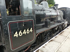 P1090164 - 2018-07-29 - Day 2 - Strathspey Steam Railway - 46464 (GeordieMac Pics) Tags: ©2018georgemcvitieallrightsreserved scotland railway strathspey steam linux panasonic fz200 locomotive engine 46464 ivatt class2 dmc