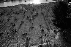 Eastern flank of Warsaw (4eye) Tags: 4eye blackandwhite monochrome warsaw warszawa polska poland hipster vistulariver amateur nikon nikkor 18105mmf3556gvr city world follow fun art