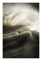 Newhaven Harbour - September 21st (Edd Allen) Tags: newhavenharbour seadefence waves water ocean sea storm wind seascape seaside southeast south uk england britain nikond810 nikkor70200mm atompshere atompsheric serene bucolic sunrise autumn abstract