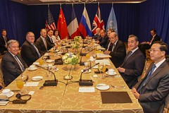 Secretary Pompeo Meets With UN Secretary-General Guterres and Permamanet Members of UN Security Council in New York City (U.S. Department of State) Tags: mikepompeo unga unga2018 newyorkcity unsc