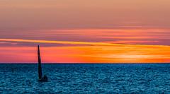 Sunset Sailing (View from Romeikos Gialos Seafront) Limnos (Lemnos) (North Aegean - Greece) (Olympus OM-D EM1-II & M.Zuiko 40-150mm f2.8 Pro Telephoto Zoom) (1 of 1) (markdbaynham) Tags: greece greek limnos lemnos hellenic olympus em1 sailing greeksunset boat colour em1mk2 em1ii omd greekisland seascape 40150mm f28 telephoto landscape view myrina myrinatown grecia greka hellas mzd mz zd mzuiko zuikolic romeikosgialos cloud cloudscape aegeanisland mirrorless csc olympusmft mft m43 micro43 micro43rd evil microfourthirds olympusomd em1mark2