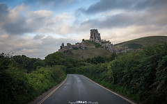 The Road to Corfe. (5PR1NK5 • Vast Spaces & Forgotten Places) Tags: landscape road roadtrip trip castle ruin ruins greenery overgroth overgrowth abandoned derelict landmark adventure discover seek find explore exploring dorset uk corfe fine art green cloud drama mood moody atmosphere leading lines canon national geographic photography 5pr1nk5 sprinks matt spring