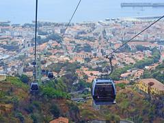 Funchal to Monte cable car (Linda 2409) Tags: city funchal teleférico cablecar téléphérique kabelbaan