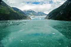 Dawes Glacier (Infinity & Beyond Photography) Tags: dawes glacier endicott arm fjord mountain mountains water sea ice vista views landscape alaska scenery cruise cruising photos