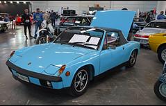 VW-Porsche 914/4 (1973) / VE-849175 (baffalie) Tags: auto voiture ancienne vintage classic old car coche retro expo italia sport automobile racing motor show collection club italie verone fiera course race circuit