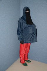 Fat Belly (Warm Clothes Fetish) Tags: slave maid hot warm sweat torture boots coat fleece fur anorak apron rainwear winter fat belly