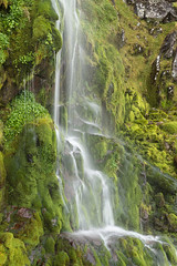 Waterfall in Glas tol a Bothian_2018_09_15_1244 (Sam Waddy) Tags: scotland landscape light rain d800 tiltshift pce water waterfall mountains torridon