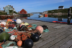 Early Morning in Peggy's Cove, August, 2018 (Will Stuart) Tags: peggyscove