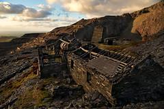 Tumbledown (PentlandPirate of the North) Tags: ruins derelict dinorwic dinorwig slate quarry grey snowdonia gwynedd northwales